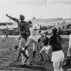 Играет белгородская футбольная команда «Салют», 1970-е гг. ГАНИБО.Ф.2080.Оп.11.Д.208.Е-5з