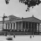 Строительство драмтеатра в г. Белгороде, 1961 г.  ГАНИБО.Ф.2080.Оп.7.Д.48.Е-1