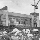 Строительство здания Белгородского железнодорожного вокзала, 1982 г.   ГАНИБО.Ф.2080.Оп.7.Д.20.Е-1