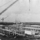 Строительство Белгородского витаминного комбината, 1962 г. ГАНИБО.Ф.2080.Оп.8.Д.21.Е-2