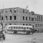 Строительство административного здания Госбанка по ул. Буденного, 1950-е гг. ГАНИБО.Ф.2080.Оп.7.Д.9.Е-1
