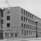 Строительство дома связи в г. Белгороде, 1950-е гг. ГАНИБО.Ф.2080.Оп.7.Д.16.Е-1